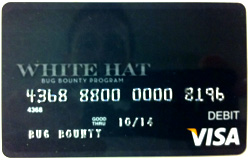 Card bancar lansat de Facebook White Hat