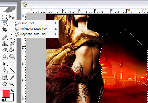 Cum se sterge corect backgroundul pe o imagine? Tutoriale Photoshop Tutoriale-selectare-photoshop
