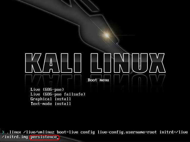 Kali Linux Persistence